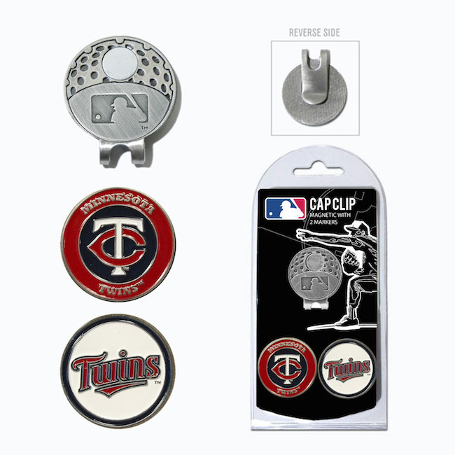 Minnesota Twins Hat Clip With 2 Ball Markers