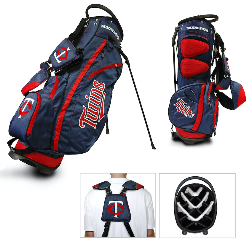 Minnesota Twins Fairway Carry Stand Golf Bag