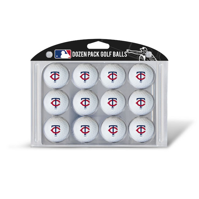 Minnesota Twins Dozen Golf Ball Pack
