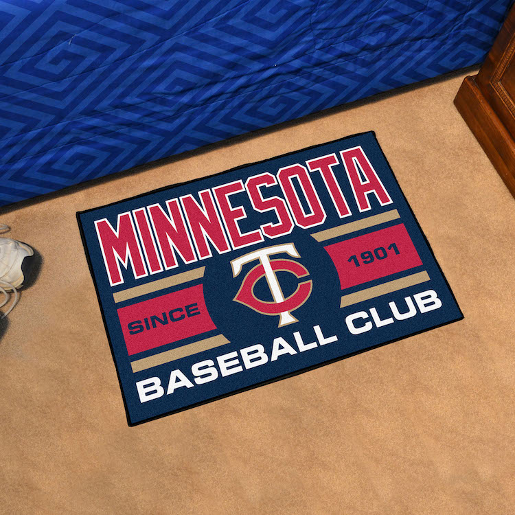 Minnesota Twins 20 x 30 Uniform STARTER Floor Mat