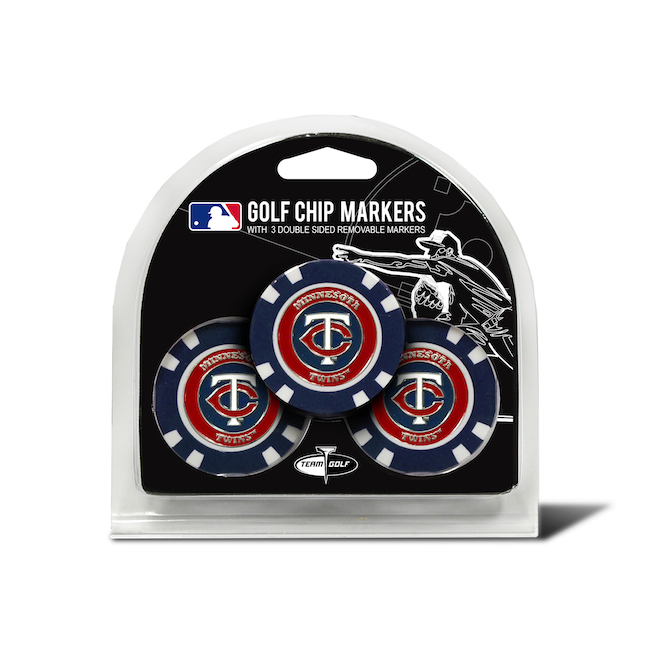 Minnesota Twins 3 Pack Golf Chips