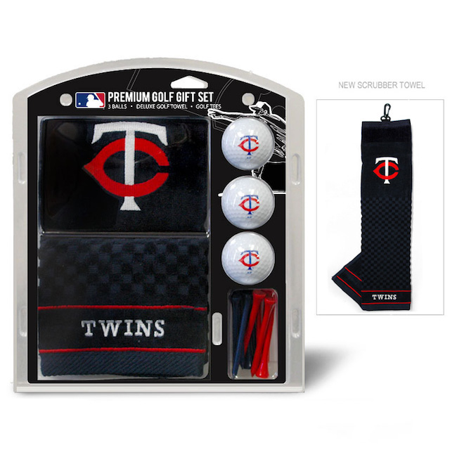 Minnesota Twins Premium Golf Gift Set
