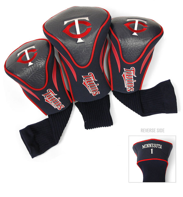 Minnesota Twins 3 Pack Contour Headcovers