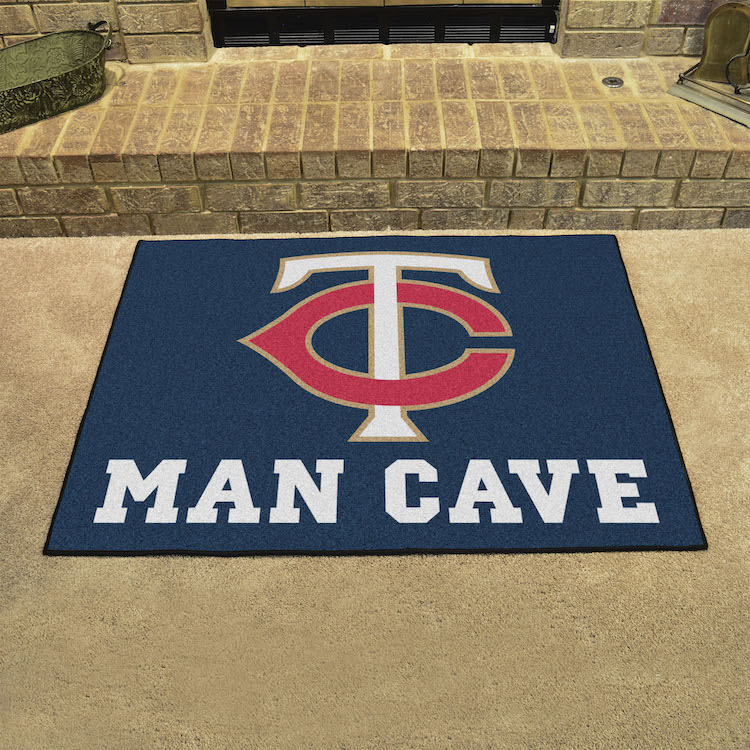 Minnesota Twins ALL STAR 34 x 45 MAN CAVE Floor Mat