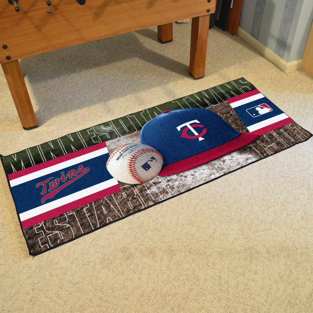 Minnesota Twins 30 x 72 Baseball Carpet Runner