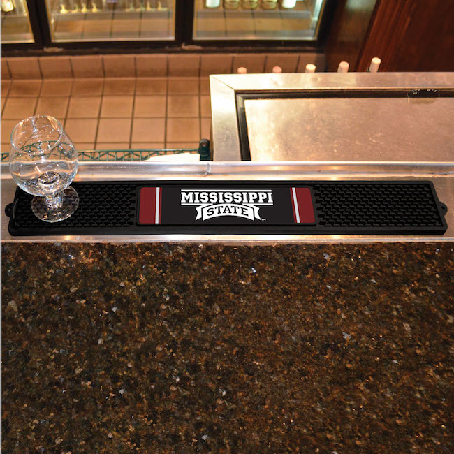 Mississippi State Bulldogs Bar Drink Mat