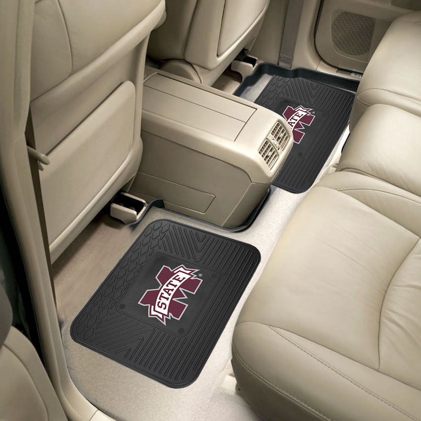 Mississippi State Bulldogs Small Utility Mat (Set of 2)