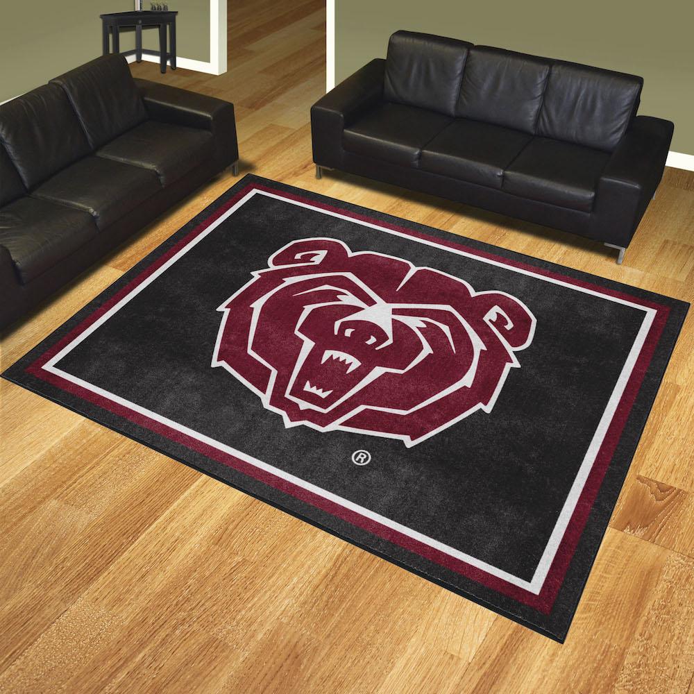 Missouri State Bears Ultra Plush 8x10 Area Rug