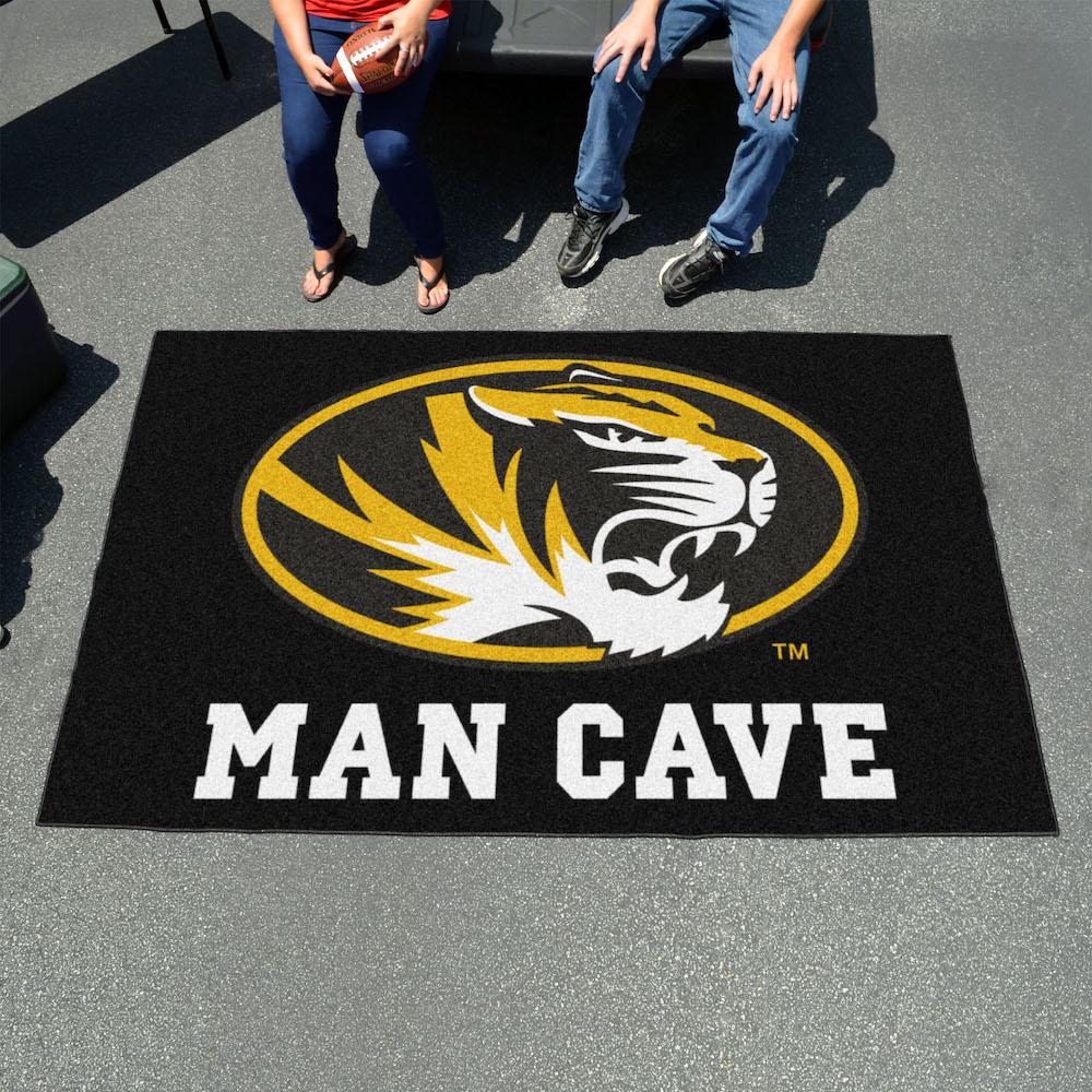 Missouri Tigers UTILI-MAT 60 X 96 MAN CAVE Rug
