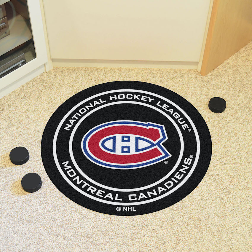 Montreal Canadiens Hockey Puck Floor Mat Buy At Khc Sports
