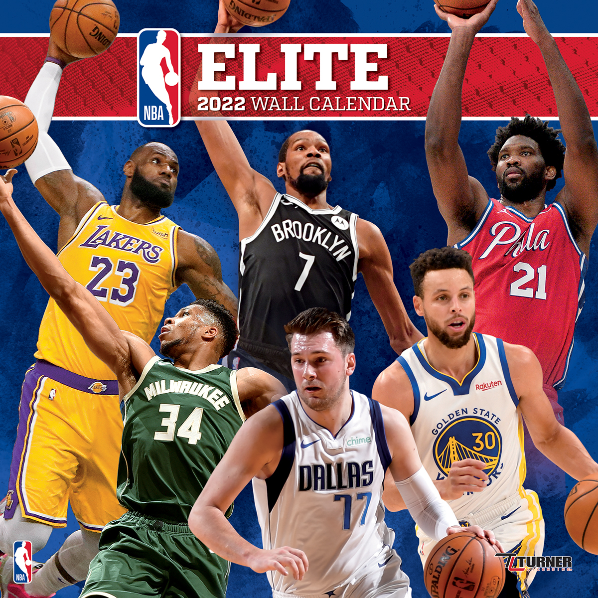 eeadcdbc NBA ELITE 2019 NBA Wall Calendar - Buy at KHC Sports