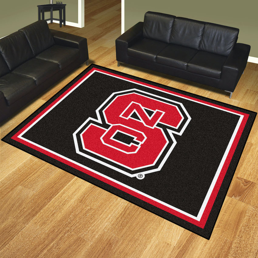 NC State Wolfpack Ultra Plush 8x10 Area Rug