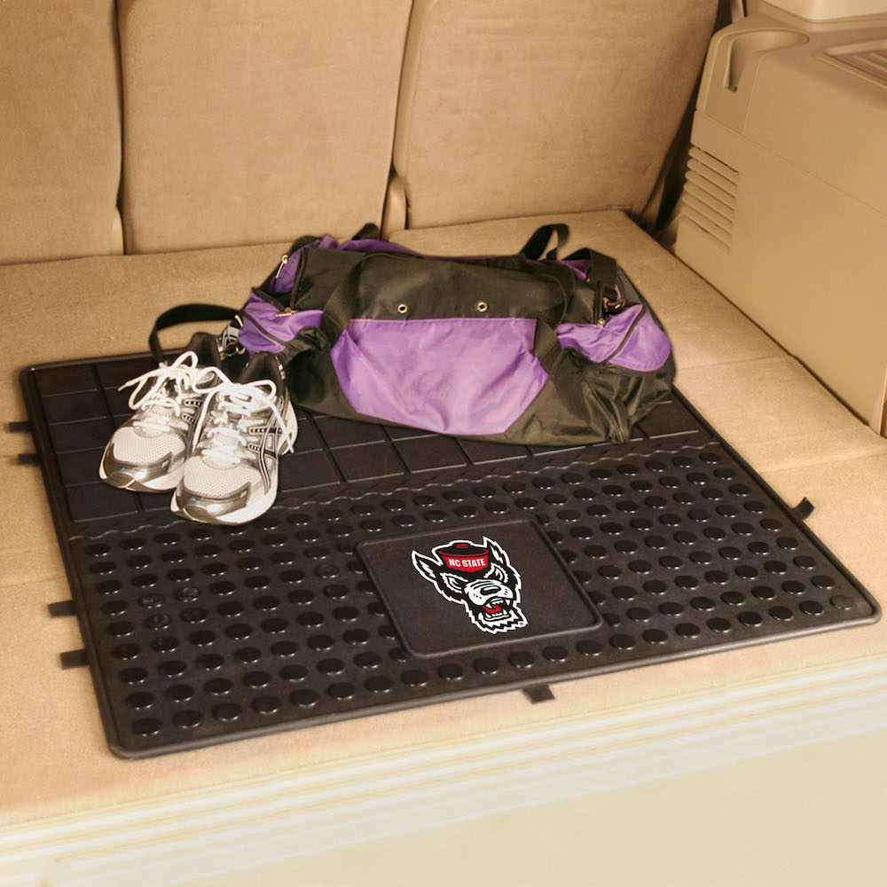 NC State Wolfpack Heavy Duty Vinyl Cargo Mat
