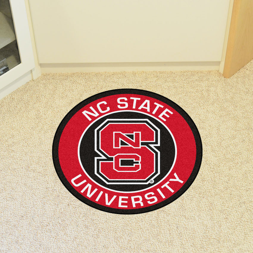 NC State Wolfpack Roundel Mat
