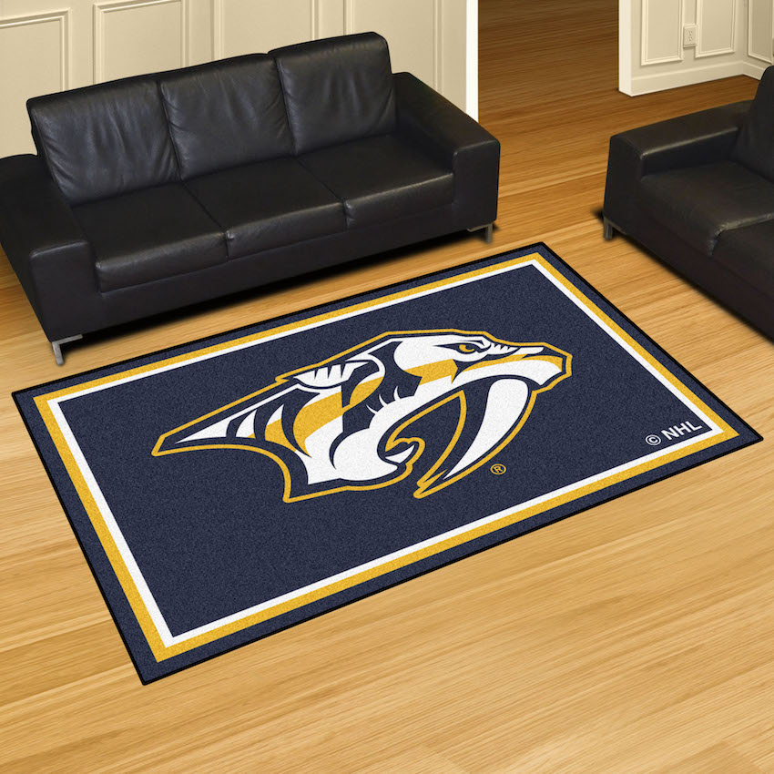 Nashville Predators 5x8 Area Rug