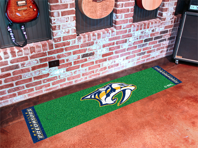 Nashville Predators Putting Green Mat 18 x 72