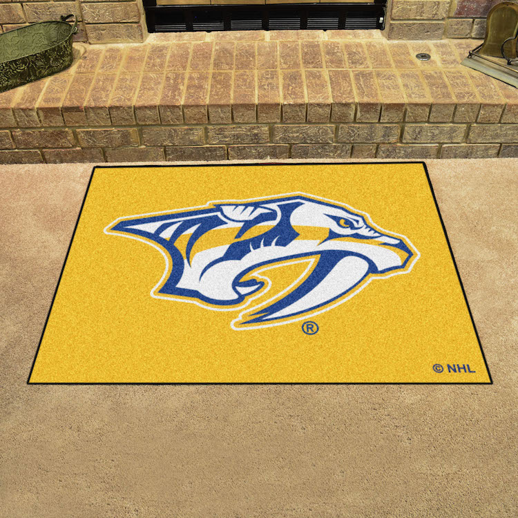 Nashville Predators ~ LOGO ~ ALL STAR 34 x 45 Floor Mat