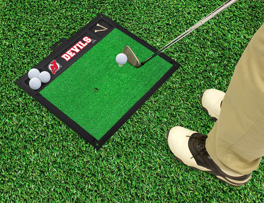 New Jersey Devils Golf Hitting Mat