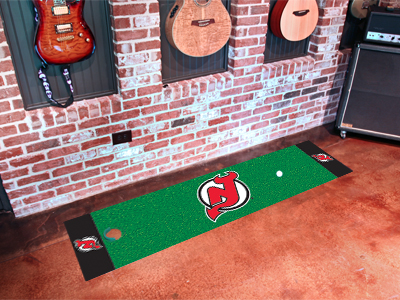 New Jersey Devils Putting Green Mat 18 x 72