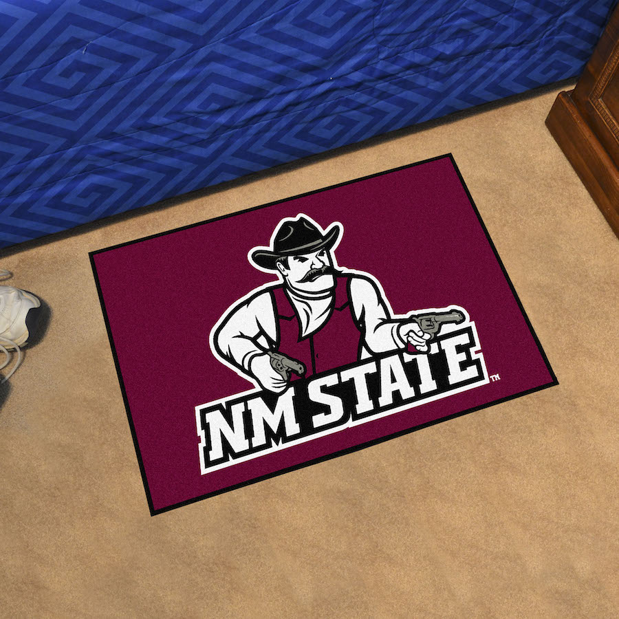 New Mexico State Aggies 20 x 30 STARTER Floor Mat