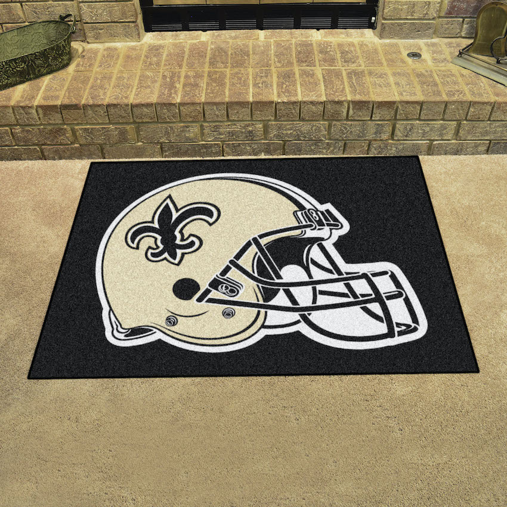 New Orleans Saints All Star 34 X 45 Floor Mat Buy At Khc Sports