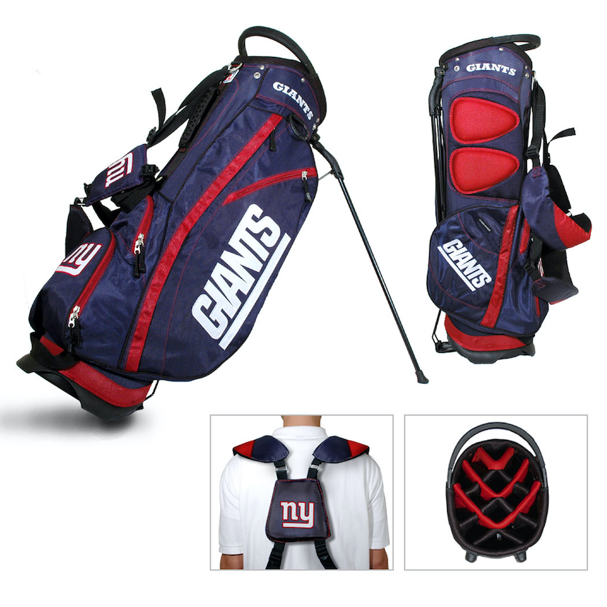 New York Giants Fairway Carry Stand Golf Bag