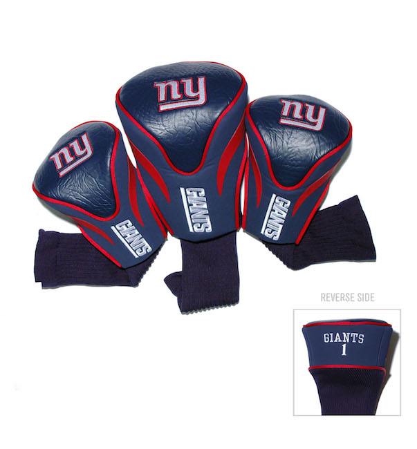 New York Giants 3 Pack Contour Headcovers
