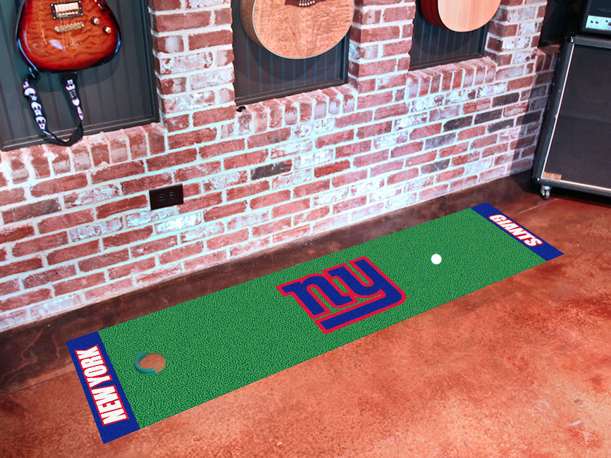 New York Giants Putting Green Mat 18 x 72