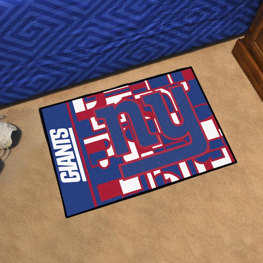 New York Giants 20 X 30 Quick Snap Starter Floor Mat Buy