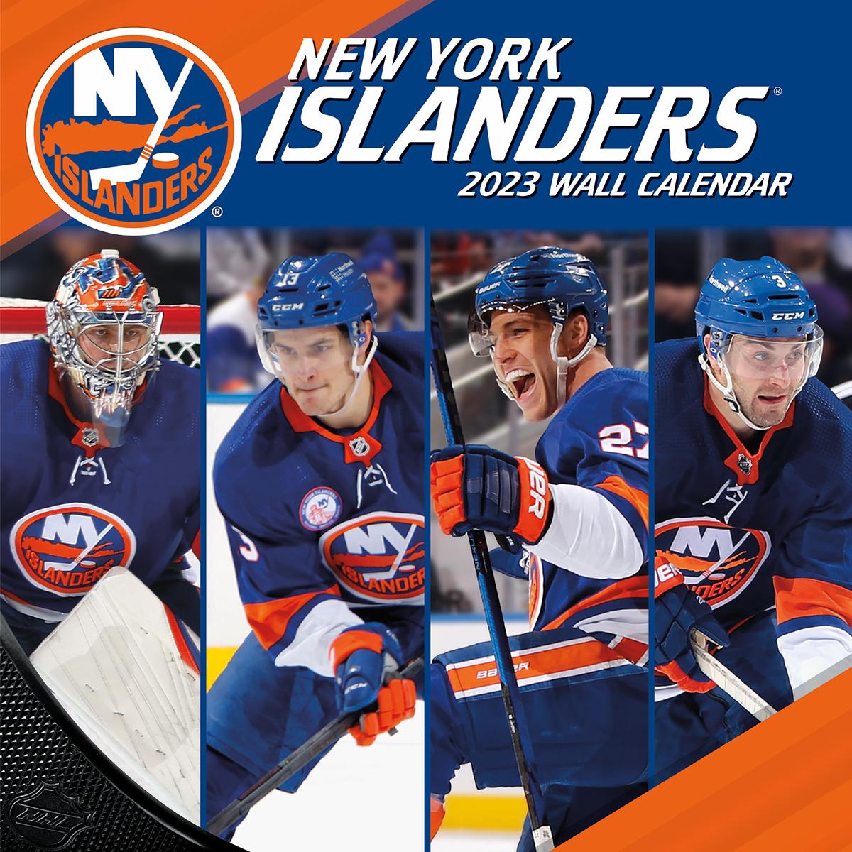 new york islanders 2018 nhl wall calendar buy at khc sports