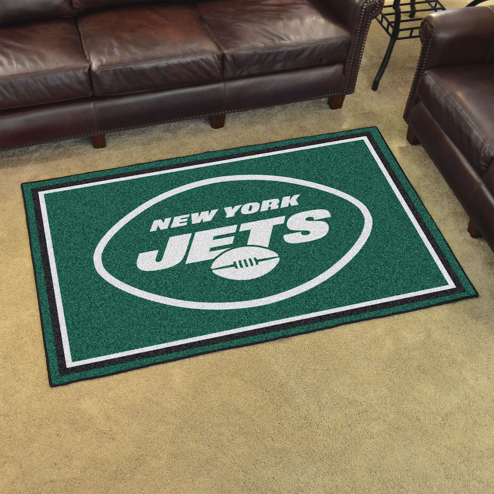New York Jets 4x6 Area Rug