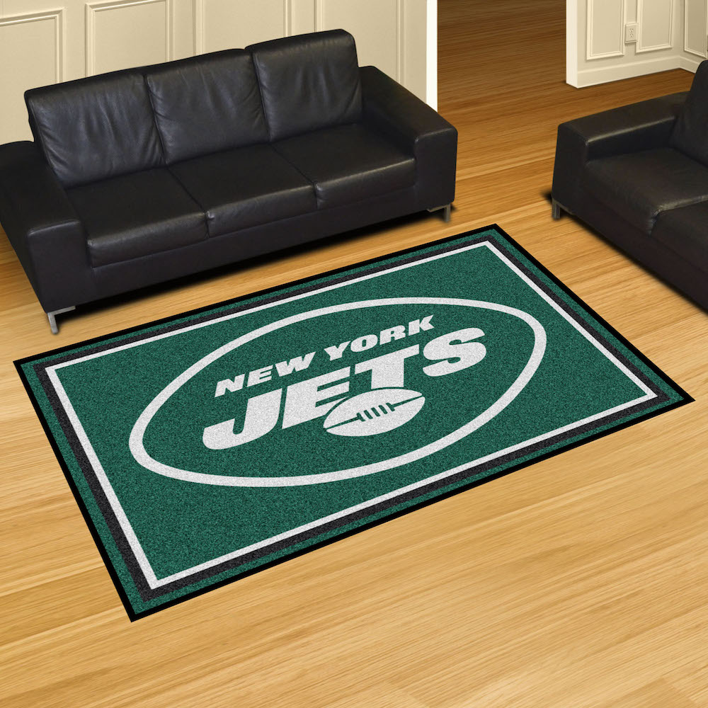 New York Jets 5x8 Area Rug