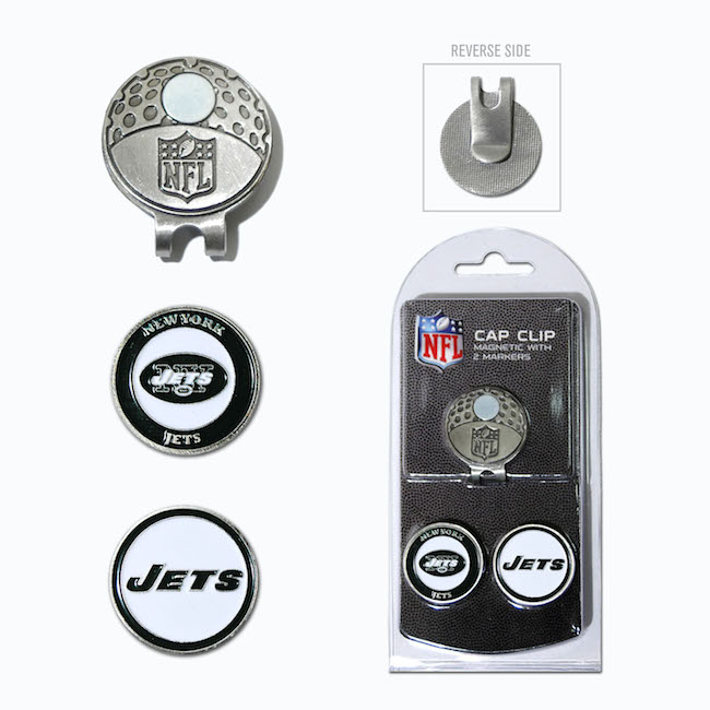 New York Jets Hat Clip With 2 Ball Markers