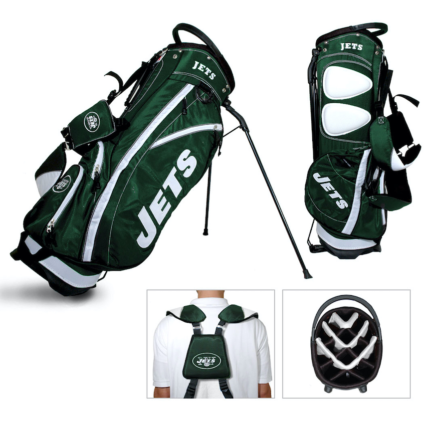 New York Jets Fairway Carry Stand Golf Bag