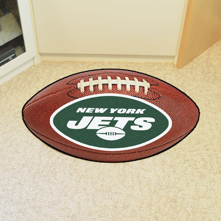 New York Jets 22 x 35 Football Mat