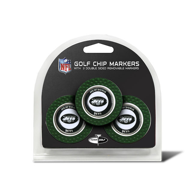 New York Jets 3 Pack Golf Chips