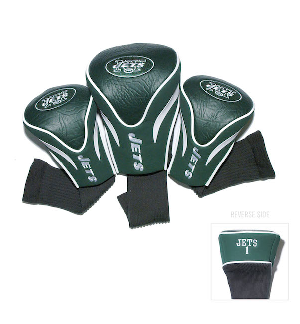 New York Jets 3 Pack Contour Headcovers