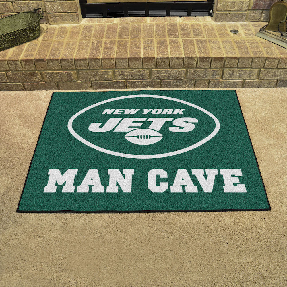 New York Jets ALL STAR 34 x 45 MAN CAVE Floor Mat