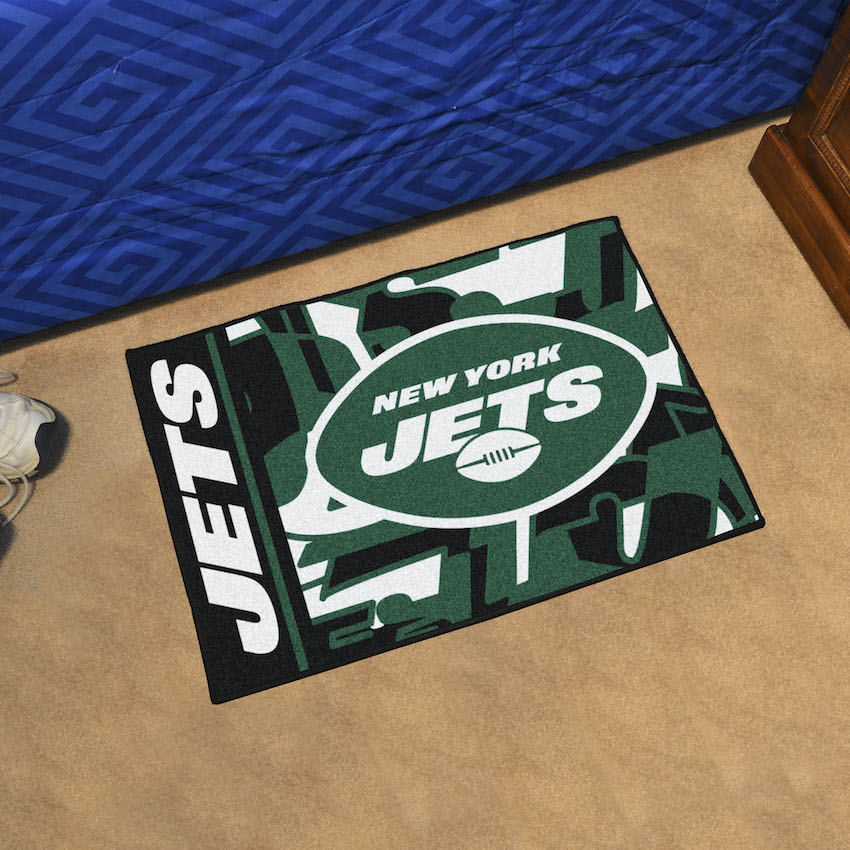New York Jets 20 x 30 Quick Snap Starter Floor Mat