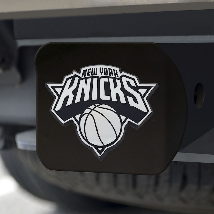New York Knicks BLACK Trailer Hitch Cover