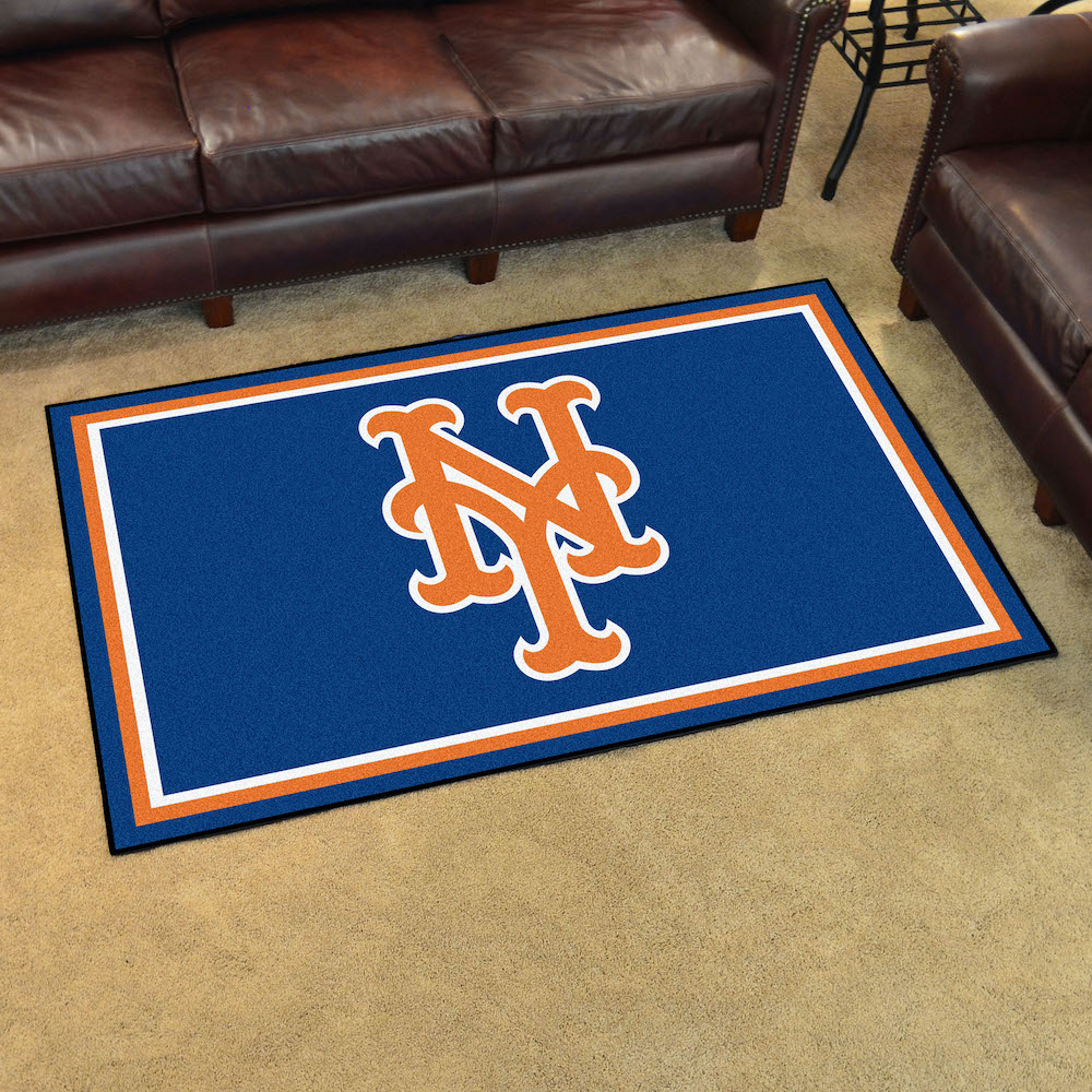 New York Mets 4x6 Area Rug