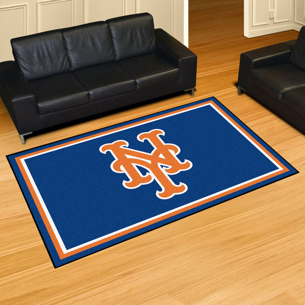 New York Mets 5x8 Area Rug