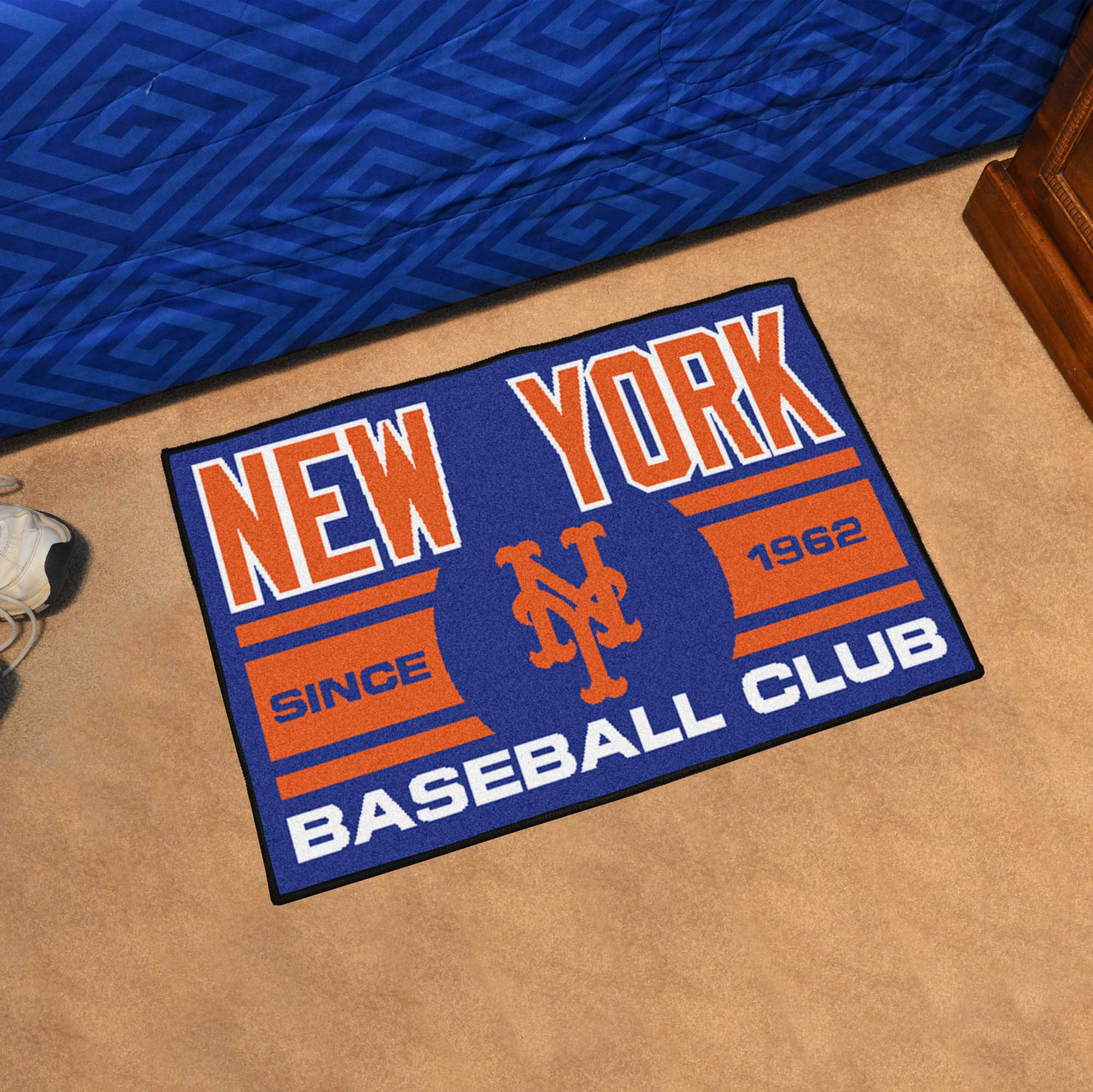 New York Mets 20 x 30 Uniform STARTER Floor Mat