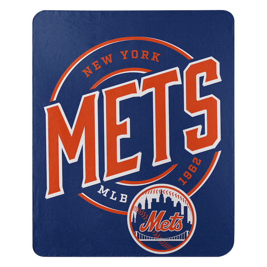 New York Mets Fleece Throw Blanket 50 x 60