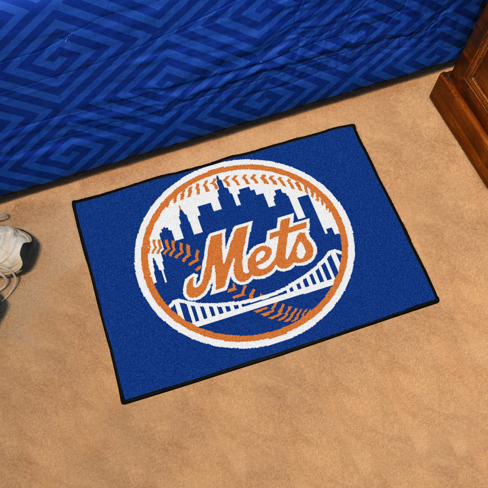 New York Mets 20 x 30 STARTER Floor Mat