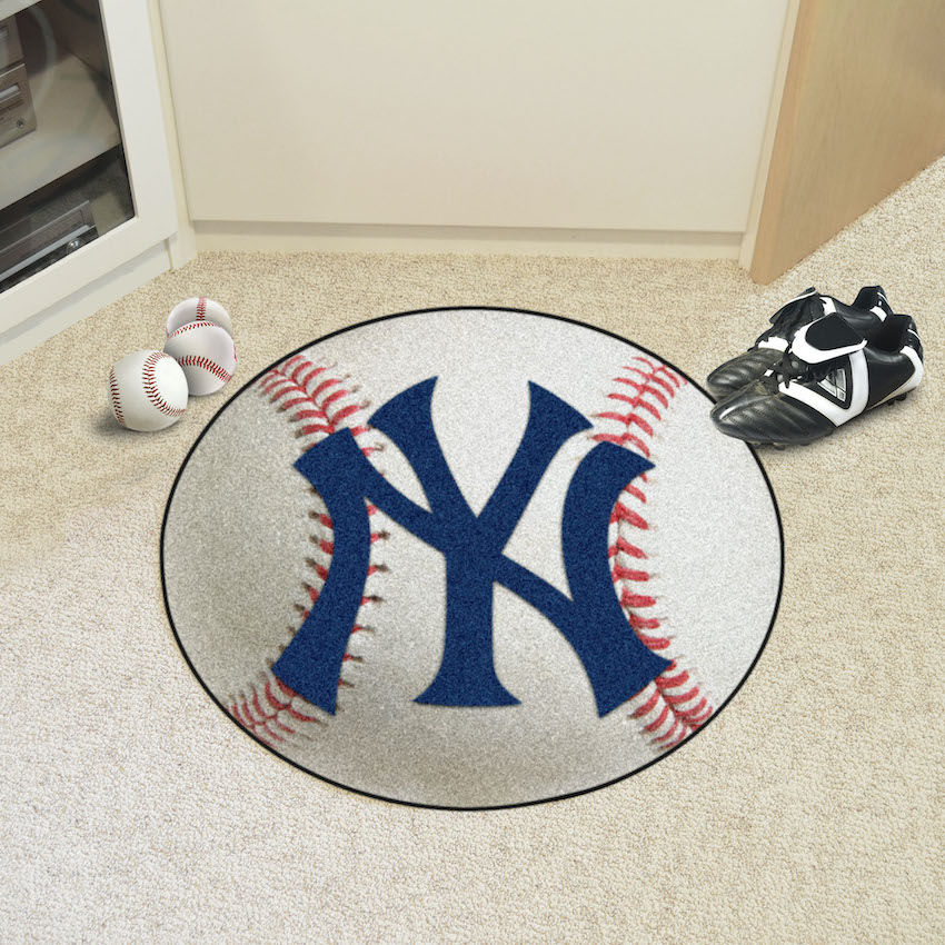 New York Yankees Baseball Floor Mat Buy At Khc Sports
