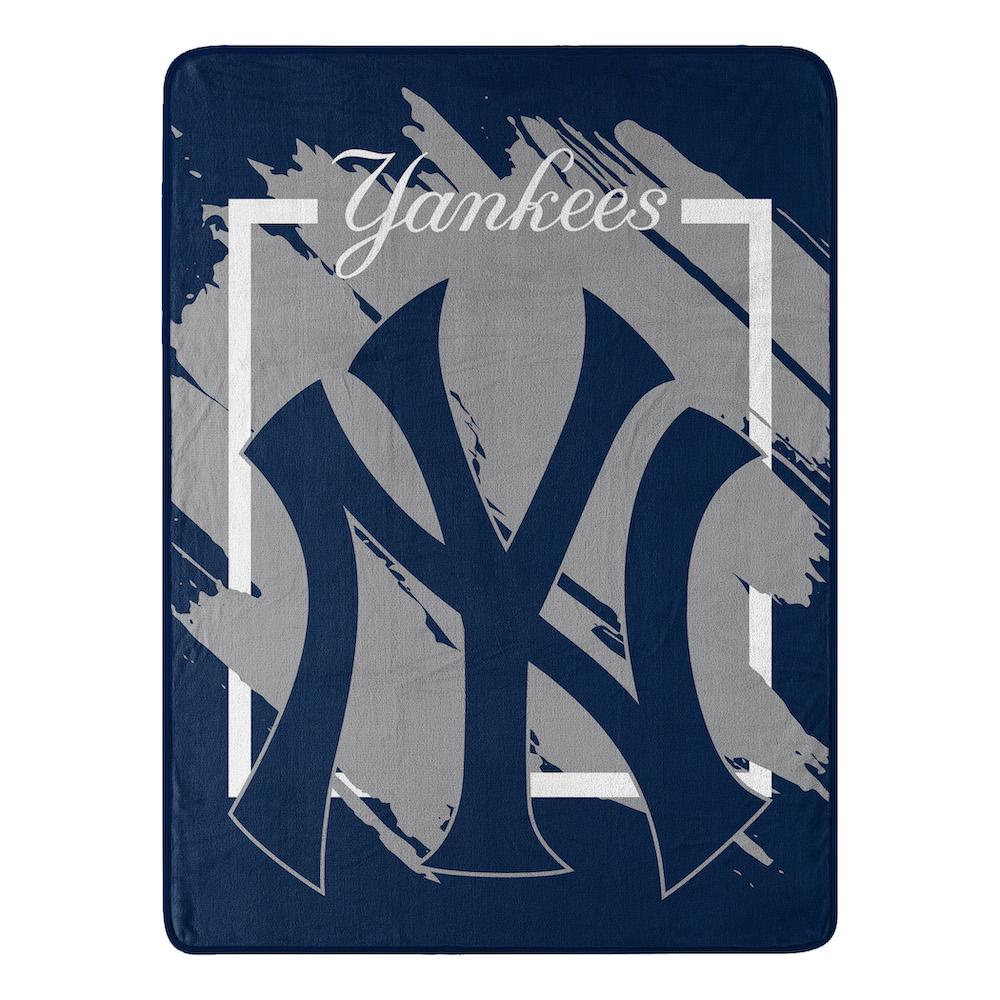 New York Yankees Micro Raschel 50 X 60 Team Blanket Buy