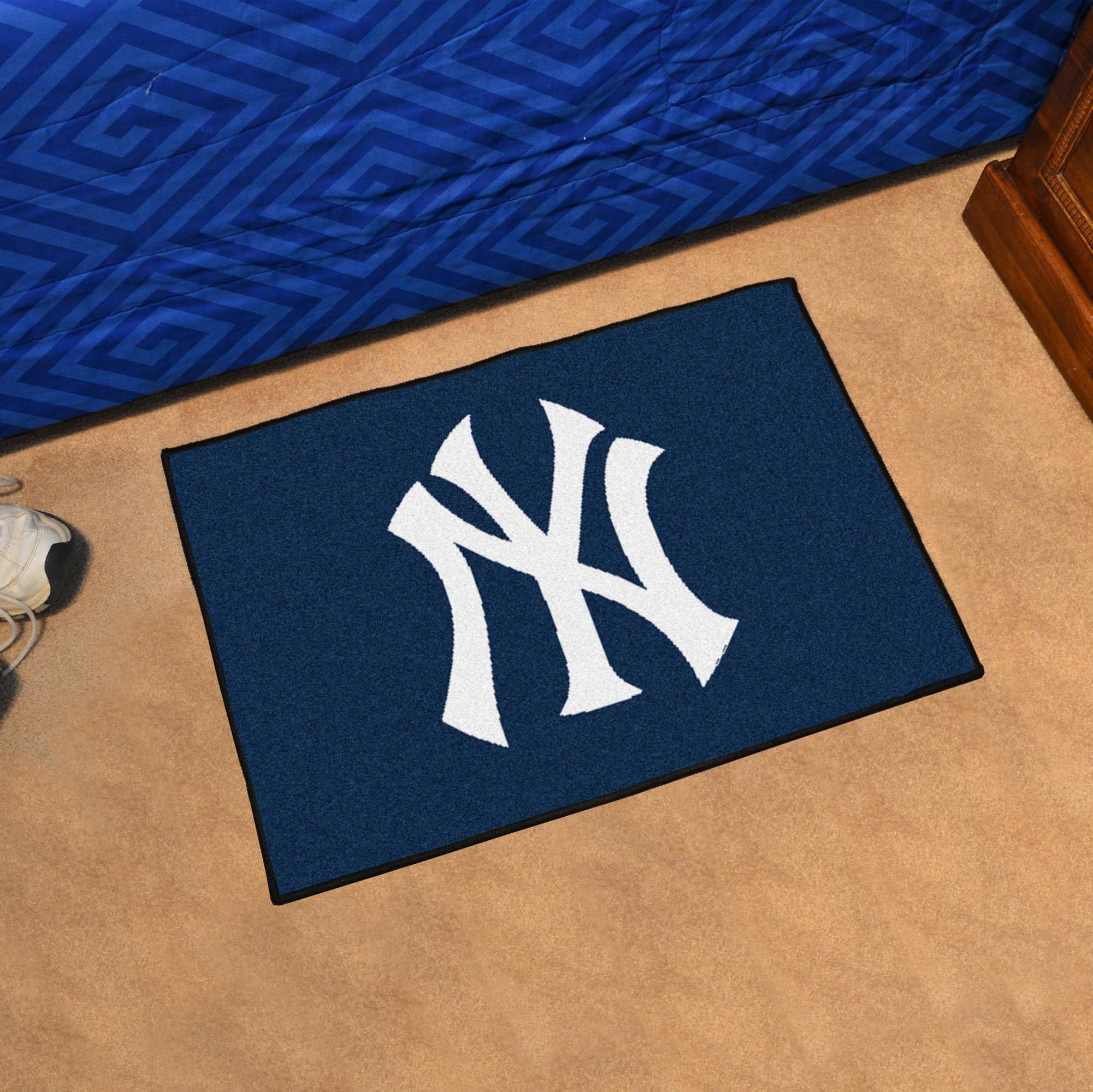 New York Yankees 20 X 30 Starter Floor Mat Buy At Khc Sports