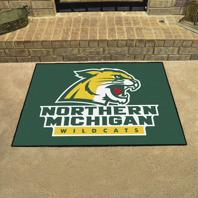 Northern Michigan Wildcats ALL STAR 34 x 45 Floor Mat