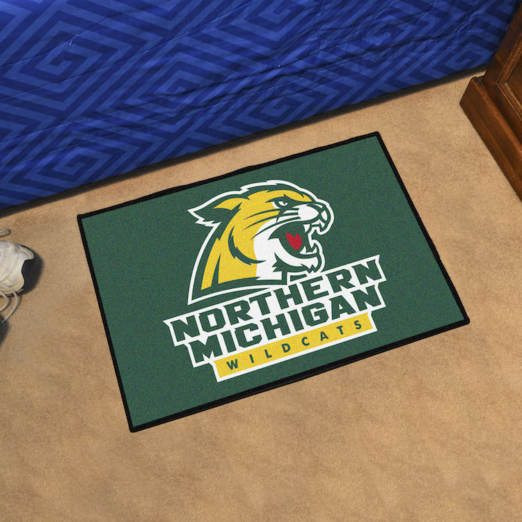 Northern Michigan Wildcats 20 x 30 STARTER Floor Mat
